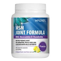 Wagner Joint Formula with Glucosamine & Chondroitin MSM 500g Powder