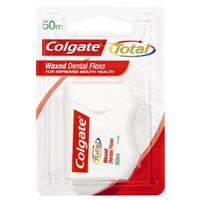Colgate Total Waxed Dental Floss 50m