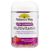 Nature's Way Vita Gummies Daily Multi Vitamin for all the Family 120 Pastilles