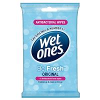 Wet Ones Be Fresh 15 Travel Pack