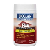Bioglan Red Krill Oil 100mg 90 Capsules