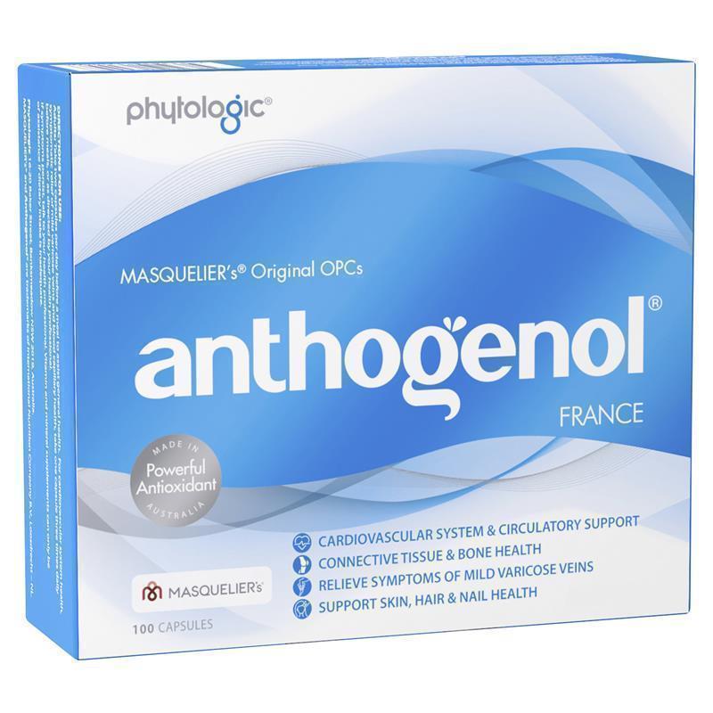 Image of Anthogenol 90 Capsules + 10 Bonus Capsules