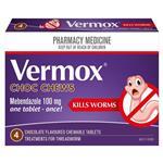 Vermox Choc Chew 4