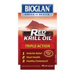 Bioglan Red Krill Oil 500mg Capsules 60