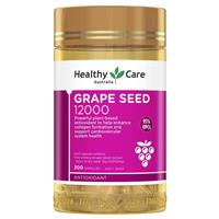 Healthy Care Grape Seed Extract 12000 Gold Jar 300 Capsules