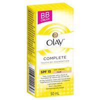 Olay Complete Touch Moisturiser with a Hint Foundation Fair 50ml