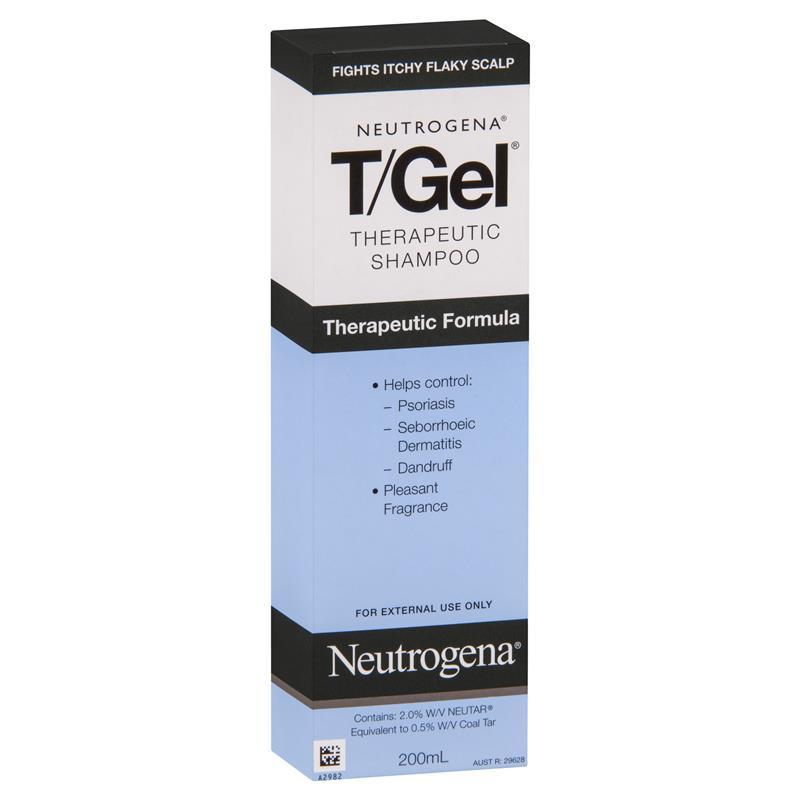 Neutrogena T-Gel Shampoo 200mL - Chemist Warehouse