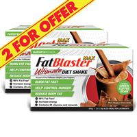 Naturopathica FatBlaster 2 For $40 VLCD Ultimate Chocolate Shake 21 Sachets