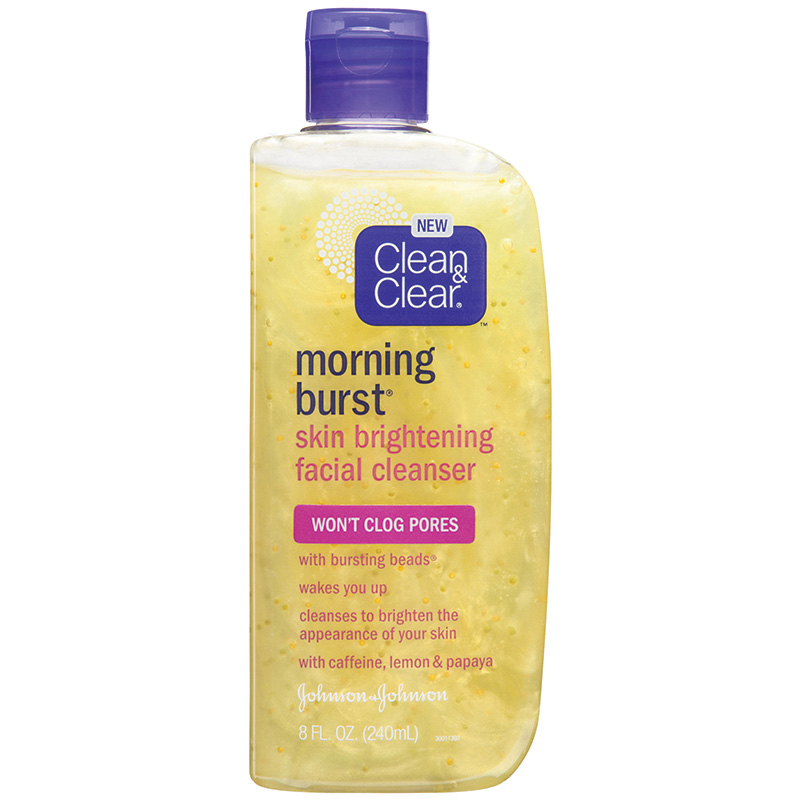Clean and clear brightening cleanser