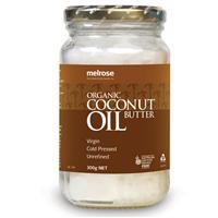 Melrose Organic Unrefined Coconut Oil 300g