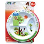 Avent Toddler Feeding Divider Plate 12month+