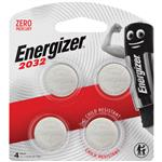 Energizer CR2032 Battery 4 Pack