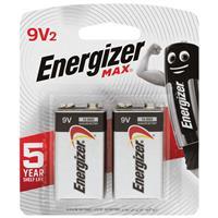 Energizer Max 522 9V 2 Pack
