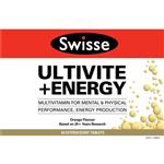 Swisse Ultivite + Energy Effervescent 60 Tablets