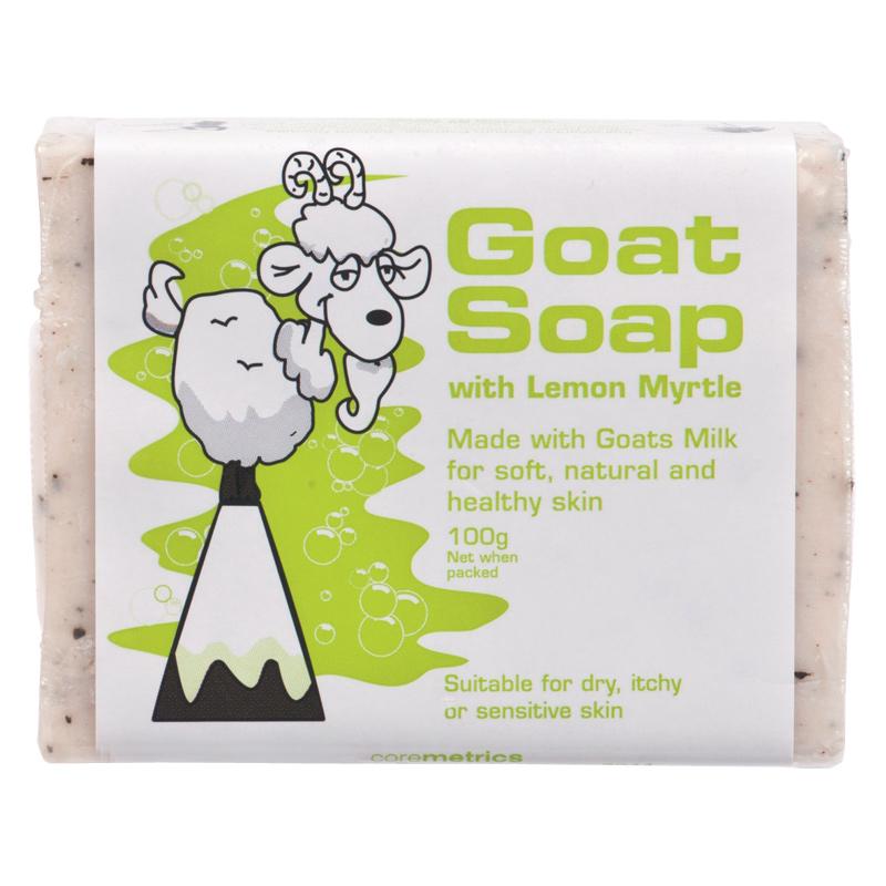 Goat Soap With Lemon Myrtle 100g Chemist Warehouse