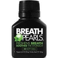 Breath Pearls Natural Capsules 50