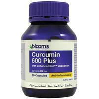 Blooms Curcumin 600mg 60 Capsules