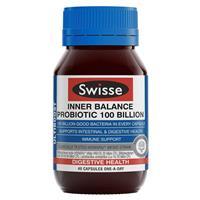 Swisse Ultiboost Inner Balance Probiotic 100 Billion 40 Capsules