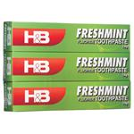 Health & Beauty Toothpaste Freshmint with Fluoride 150g 3 Pack