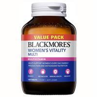 Blackmores Women's Vitality Multi Bulk Pack 150 - Chemist Warehouse