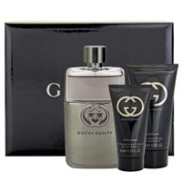 Gucci Guilty for Men 90ml 3 Piece Set