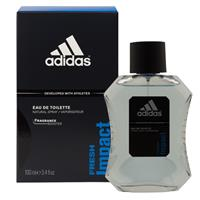 Adidas Fresh Impact 100ml Eau De Toilette Spray
