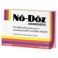 No Doz 24 Tablets