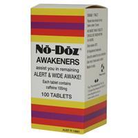 No Doz 100 Tablets