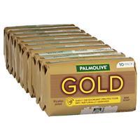Palmolive Soap Bar Gold 90g 10 Pack
