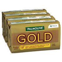 Palmolive Soap Bar Gold 90g 4 Pack