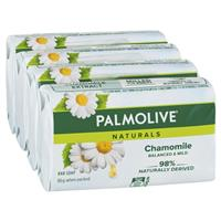 Palmolive Soap Bar White Camomile 90g 4 Pack