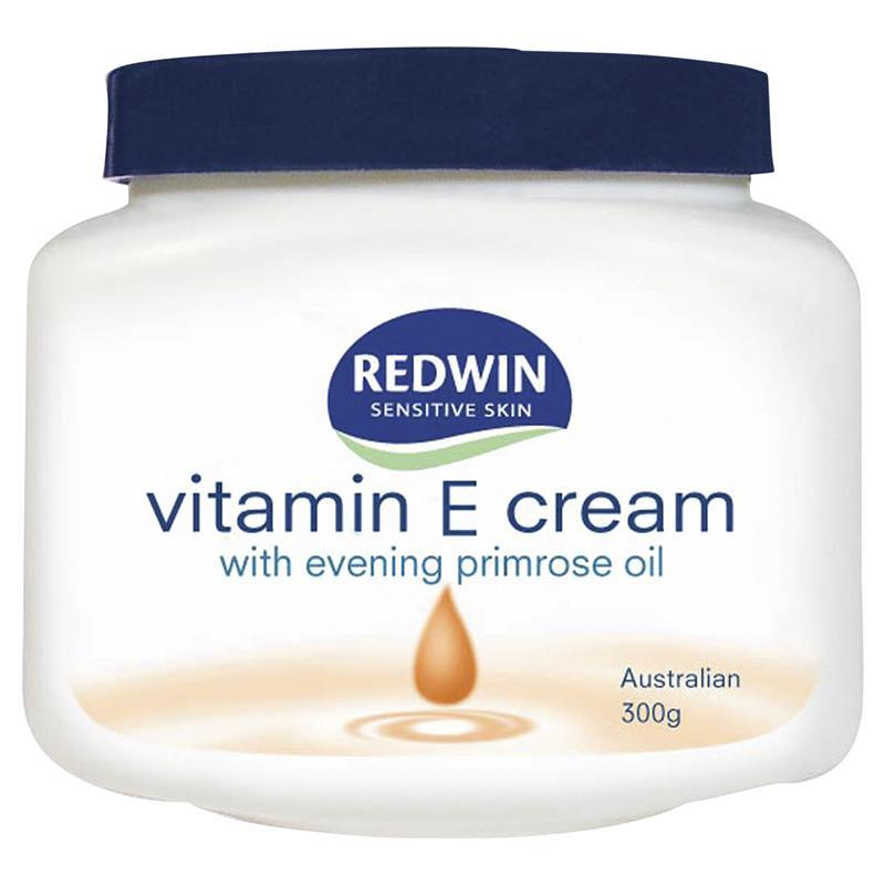 Creams with vitamin e