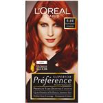 L'Oreal Preference 6.66 Santiago Intense Red
