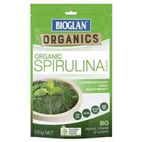 Bioglan Organic Spirulina 100g