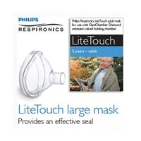 Philips Respironics Lite Touch Mask 5yrs Adult