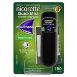 Nicorette Quick Mist Spray 150 13.2ml