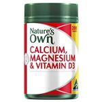 Nature's Own Calcium and Magnesium with Vitamin D3 200 Tablets