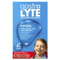 Gastrolyte Ready to Drink Strawberry 250ml 4 Pack