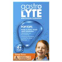 Gastrolyte Ready to Drink Orange 250ml 4 Pack