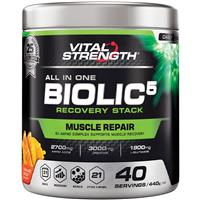VitalStrength Biolic5 Recovery Once a day Formula Orange Boost 440g