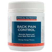 Ethical Nutrients Back Pain Control 250g