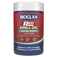 Bioglan Red Krill Oil Active Joints 60 Soft Capsules