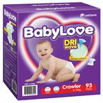 BabyLove Jumbo Nappies Crawler 93