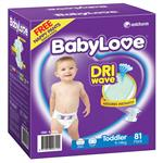 BabyLove Jumbo Nappies Toddler 81