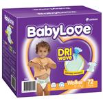 BabyLove Jumbo Nappies Walker 72