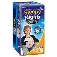 BabyLove Sleepy Nights 8-15 Years 8 Pack