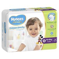 Huggies Nappy Pants 31 Toddler Boy