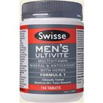 Swisse Men's Ultivite 150 Tablets