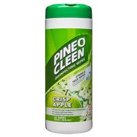 Pine O Cleen Surface Cleanser Wipes Green Apple 40