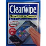 Clearwipe Smartphone Cleaner Wipes 20